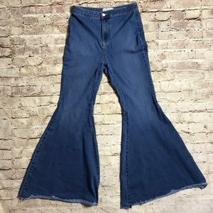 Free People Just Float On Flare Jeans 29R